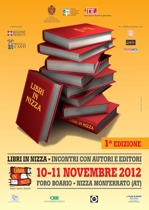 """Oggi e domani """"Libri in Nizza"""": incontri con autori ed editori"""