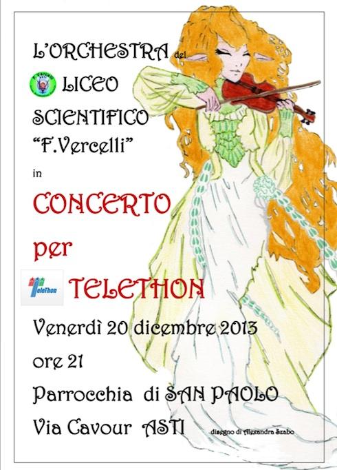 """Il coro del """"Vercelli"""" si esibisce in favore di Telethon"""