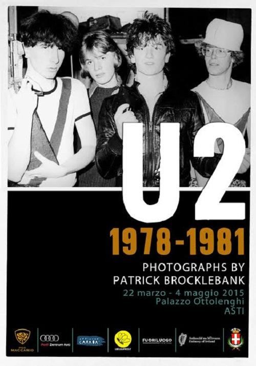 A palazzo Ottolenghi la mostra di Patrick Brocklebank dedicata agli U2