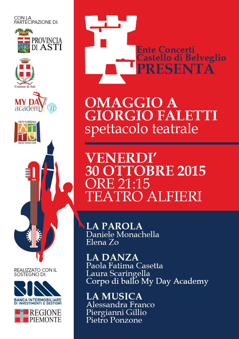 """""""Omaggio a Giorgio Faletti"""" a Teatro Alfieri"""