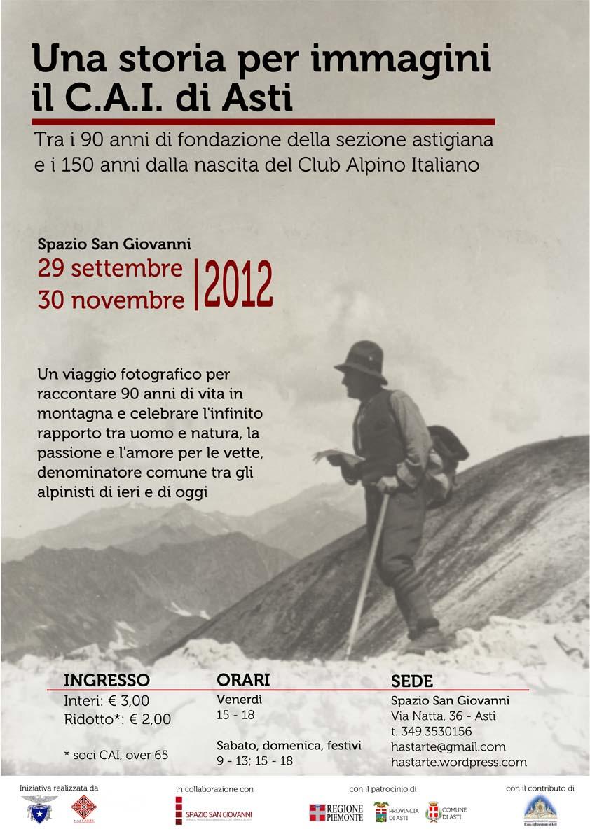 90 anni di Cai, una storia per immagini allo Spazio San Giovanni di Asti