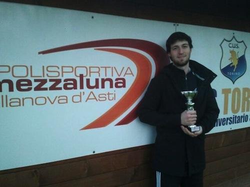 Tennis: Cavagnino vince il torneo Uniroyal