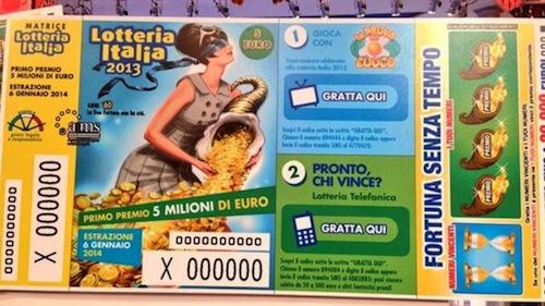 La Lotteria Italia bacia Asti