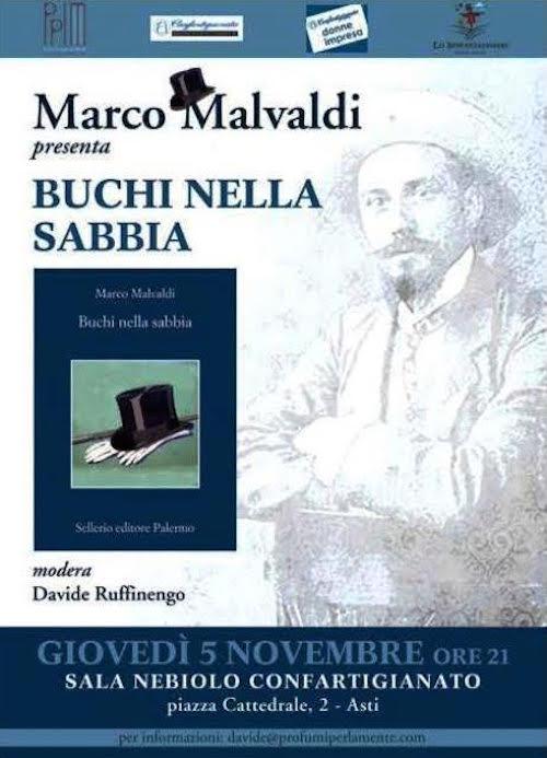 Marco Ivaldi ad Asti per il suo nuovo libro