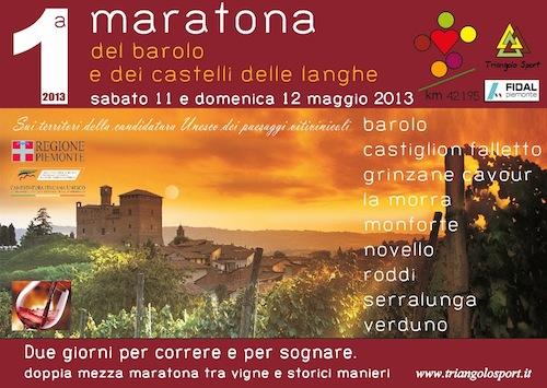 A maggio una nuova maratona nelle terre del Barolo