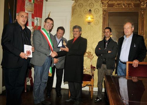 Incontro Italia – Marocco nel Municipio di Asti