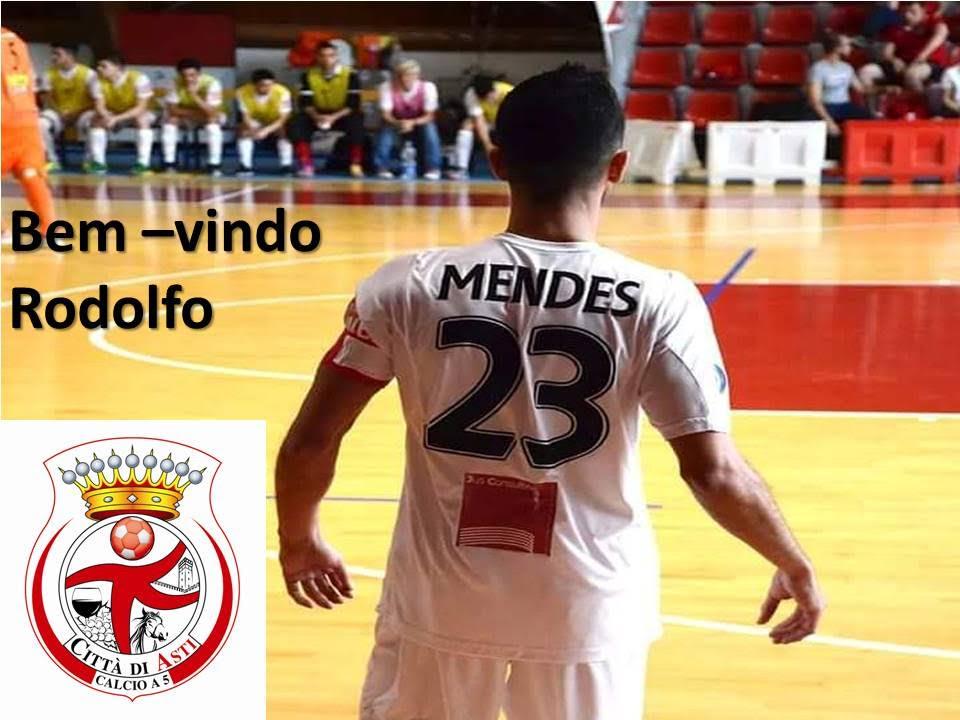 Rudy Mendes è del Città di Asti Calcio a 5