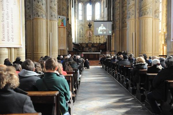 Prima messa di papa Francesco. Ad Asti Cattedrale gremita