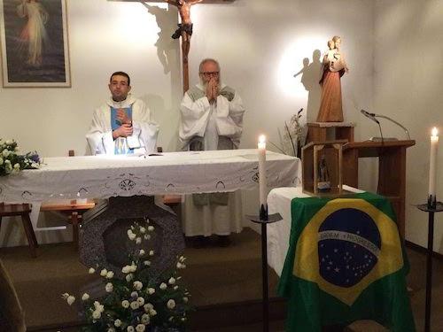 Messa in portoghese alla Torretta