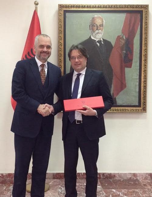Brignolo risponde all'interpellanza della Quaglia sulla trasferta in Albania