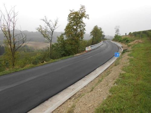 Riaperta la strada provinciale a Mombaruzzo