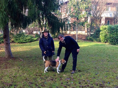Al parco Monte Rainero un'area giochi per cani