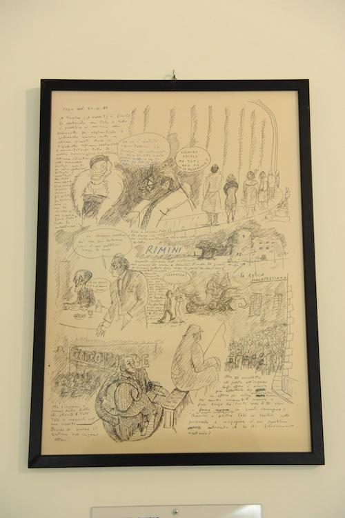 Il sogno dietro al sogno: inaugurata ad Asti la mostra dedicata al mondo onirico di Fellini