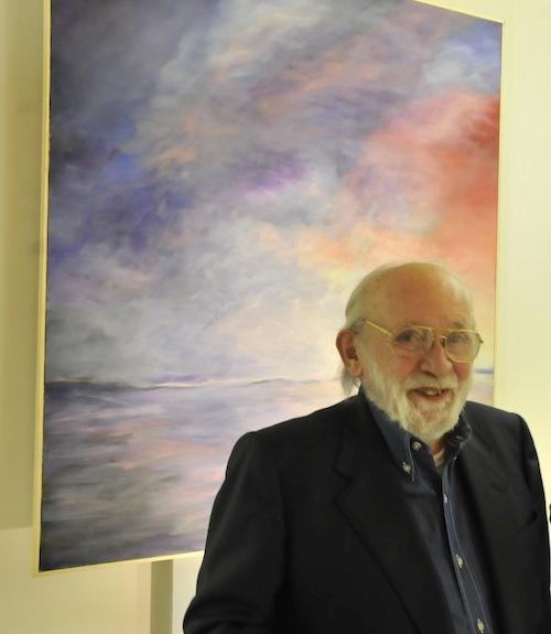 Vittorio Sgarbi presenta la mostra di Luciano Berruti