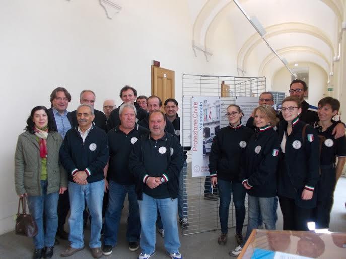 Inaugurata la mostra per i vent'anni della Protezione Civile città di Asti