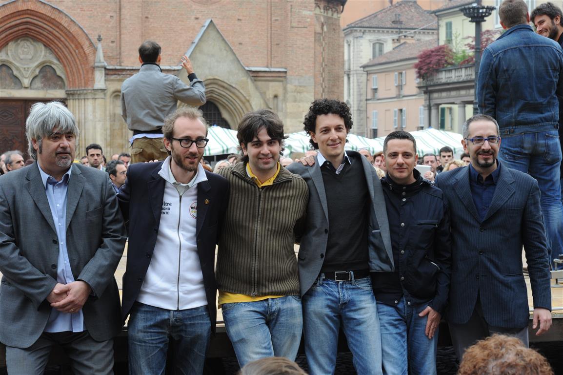 Ad Asti il Movimento 5 Stelle ha incontrato i cittadini