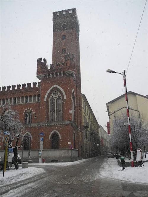 Neve sull'Astigiano. Disagi su alcune strade provinciali