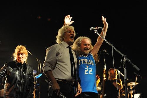 """Progressivamente: foto e volti dal concerto de """"La Storia New Trolls e Le Orme"""""""