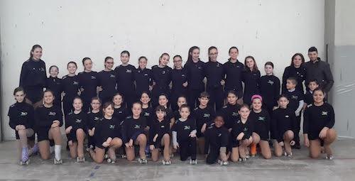 Due giorni di stage per i gruppi spettacolo della New Skating Asti