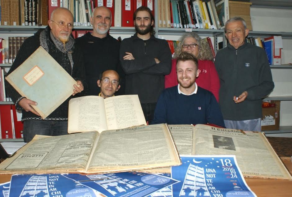 """""""Una notte in archivio"""": domenica 18 dicembre si scoprono le carte dell'Israt"""