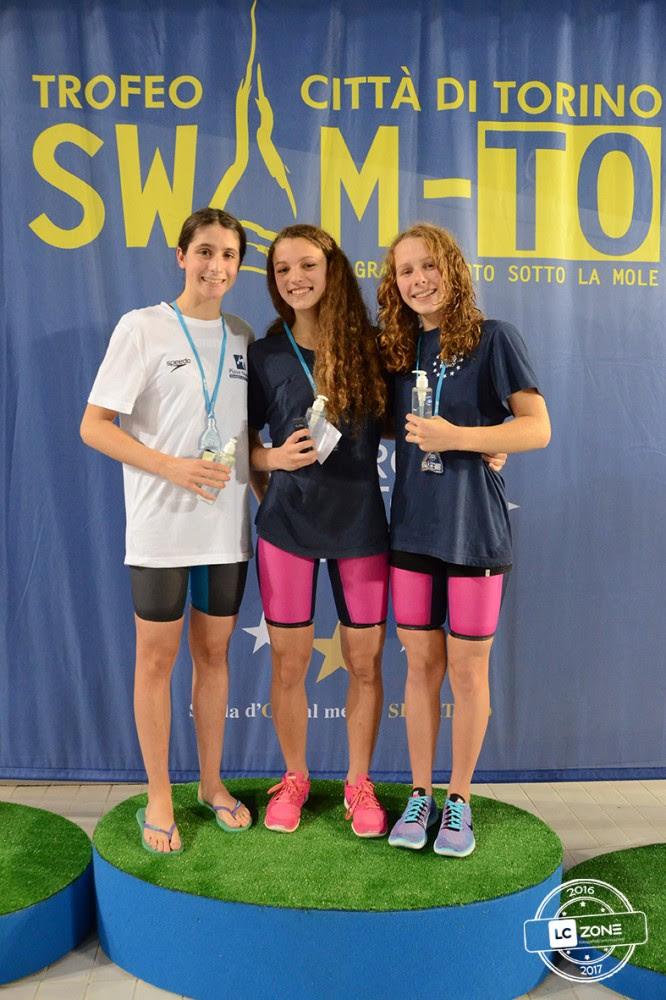 Ottimi i risultati dell'Astinuoto a SwimTO: 8 le medaglie conquistate