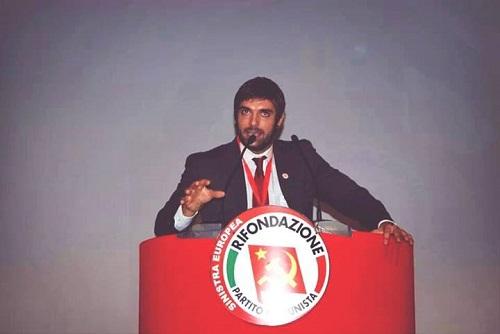 Nicolò Ollino eletto nell'assemblea nazionale di Rifondazione