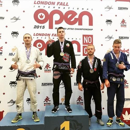 Astigiani premiati nell'Internazionale di Londra di Brazilian Jiu Jitsu