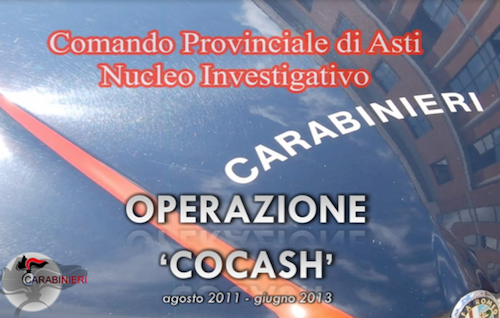 """Operazione Cocash: sgominato un cartello astigiano-albanese specializzato in """"polvere bianca"""""""