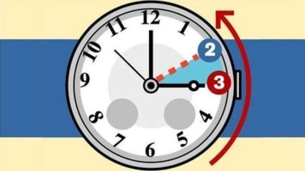 Orologi indietro: torna l'ora solare