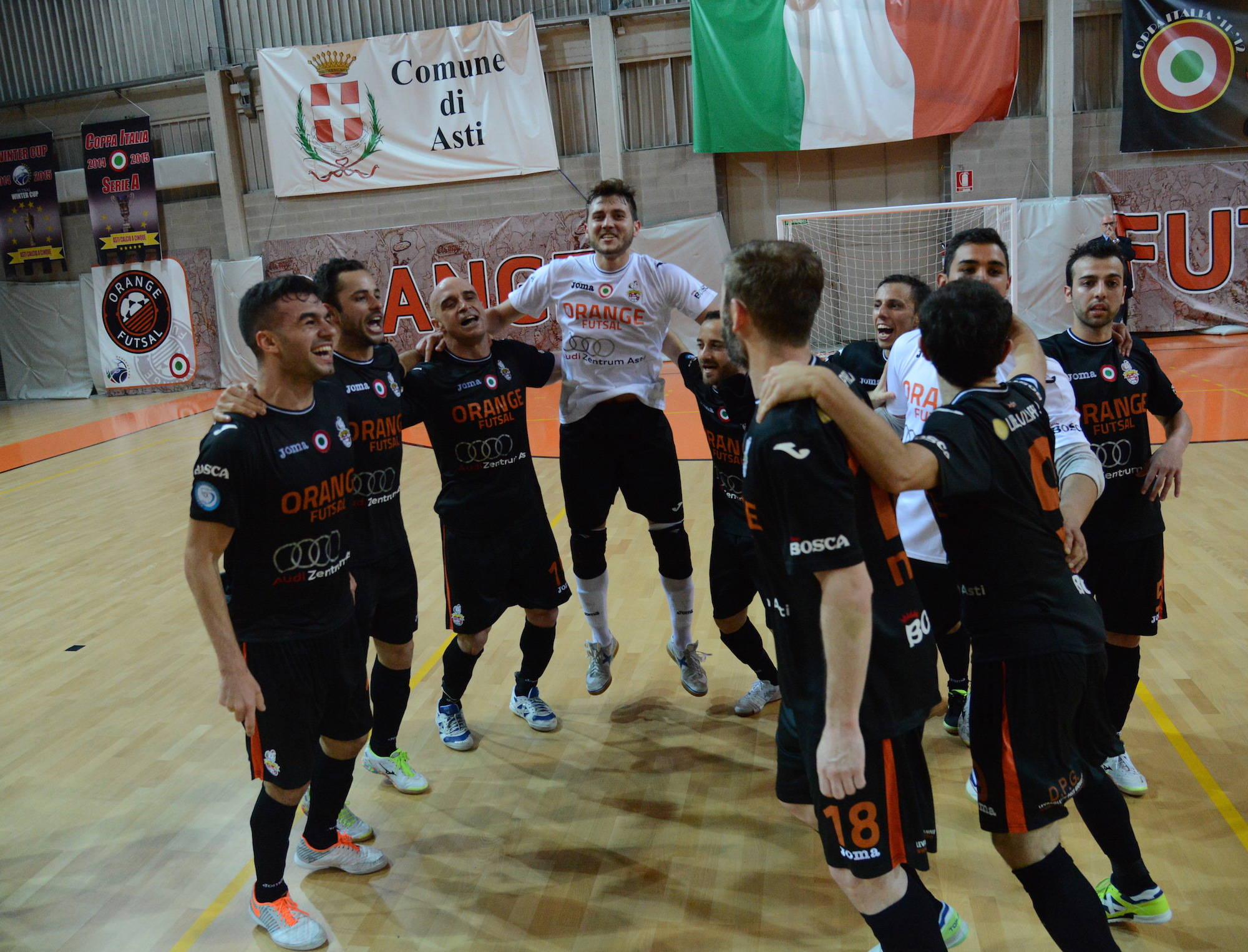 L'Orange Futsall vola in finale scudetto