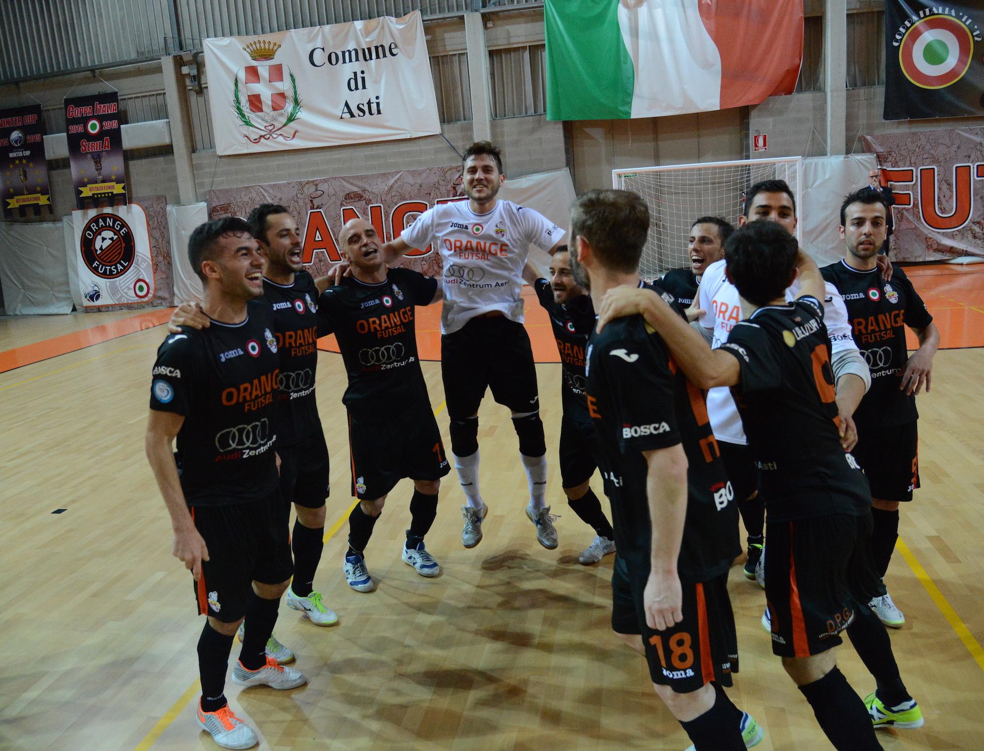 L'Orange Futsall vola in finale scudetto
