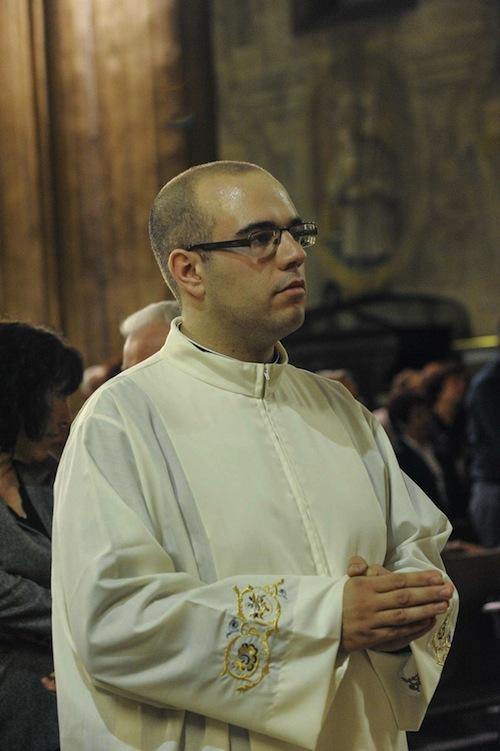 Ordinazione presbiterale del diacono Enrico Fileppi