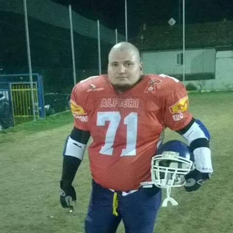 """Alfieri Asti American Football Team salutano """"Ben"""", morto sull'A21"""