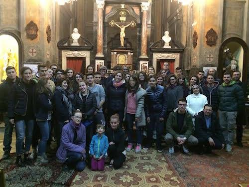 A Villafranca d'Asti una veglia per la pace