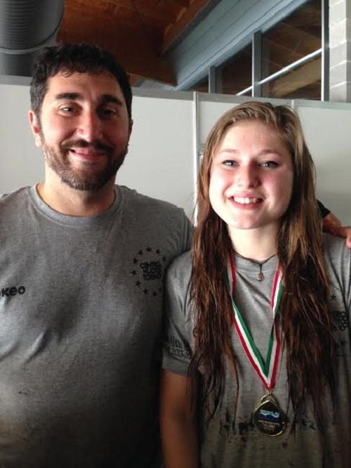Nuoto: Mihaela Bat d'oro nei 100 rana ai Criteria