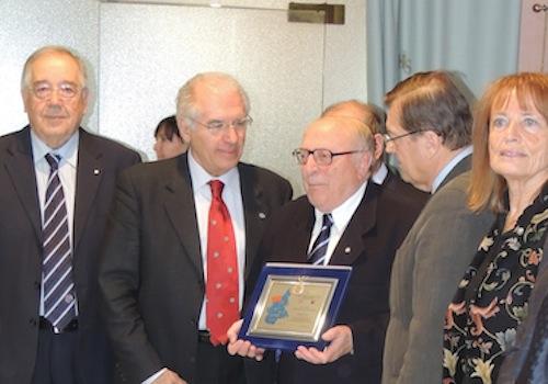 A Michele Serra il riconoscimento del Governatore 2012 per la sua carriera panathletica