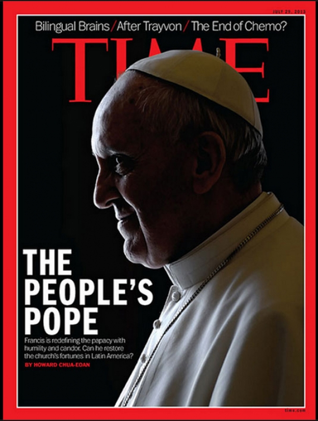 Papa Francesco è il personaggio dell'anno