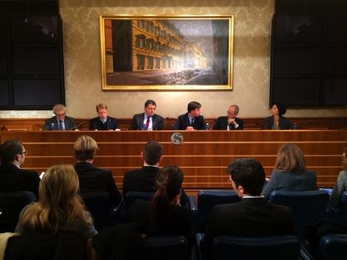 Incontro fra giovani imprenditori e senatori piemontesi