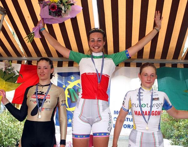 Ciclismo. Tricolore crono: Pattaro d'argento contro il tempo