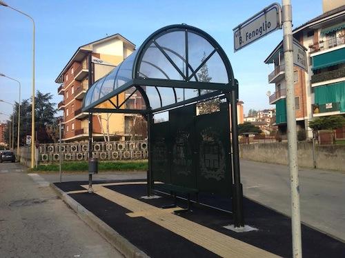 In via di completamento pensiline e panchine per diciassette fermate dei bus urbani