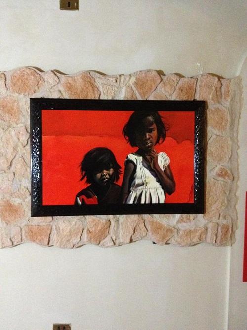 Le opere del pittore astigiano Tachis in mostra a Roma