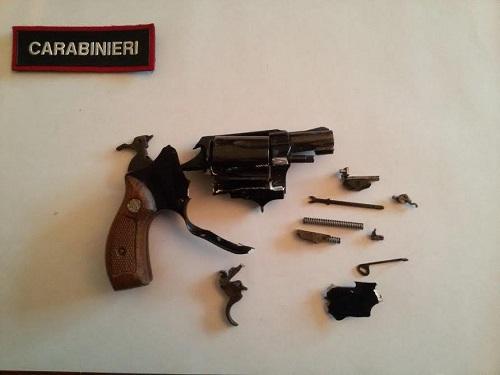 Minaccia il collega con una pistola sospetta: arrestato dai carabinieri di Asti