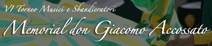 """Asti, torneo Musici e Sbandieratori """"Memorial Don Giacomo Accossato"""""""