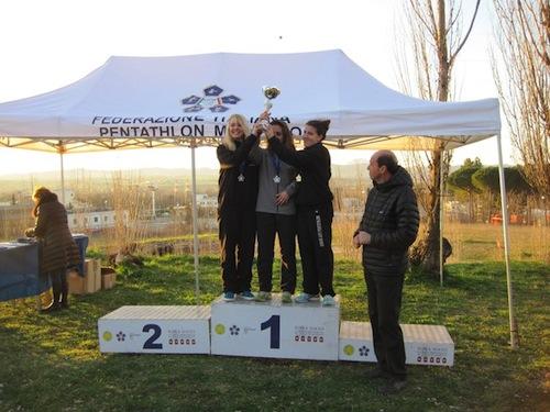 Campionato Italiano Pentathlon Moderno: titolo italiano per la squadra femminile dello Junior Pentathlon Asti