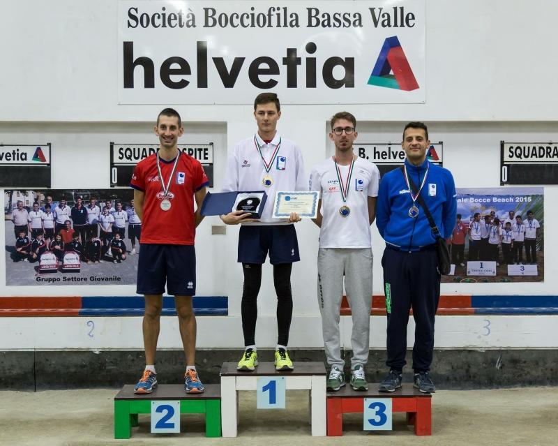 Bocce: Mauro Roggero è il nuovo campione Italiano di tiro progressivo