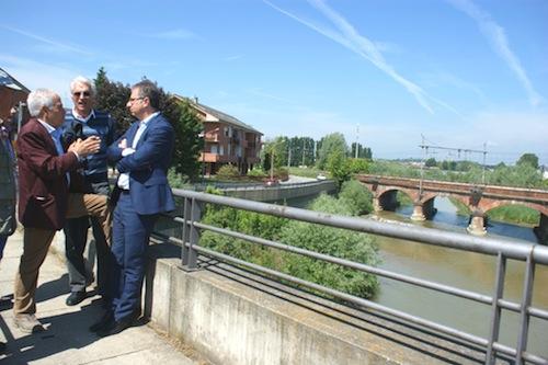 Ponte sul Borbore: il sottosegretario alle Infrastrutture risponde all'interrogazione di Fiorio
