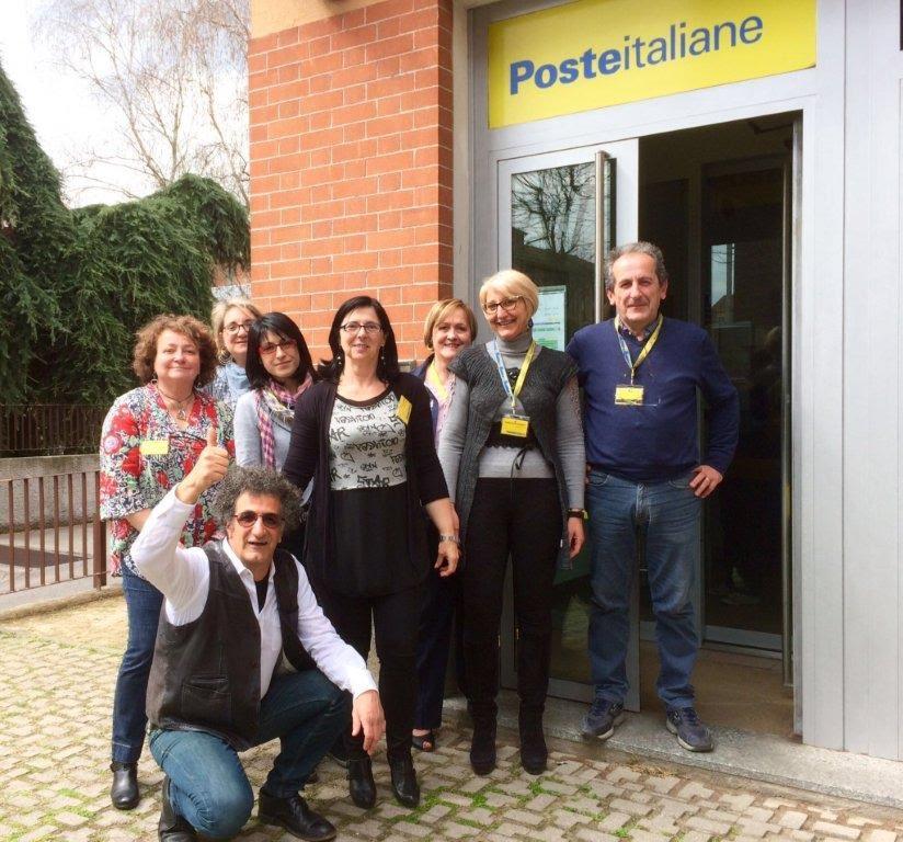 Premiato l'ufficio postale di via Buozzi