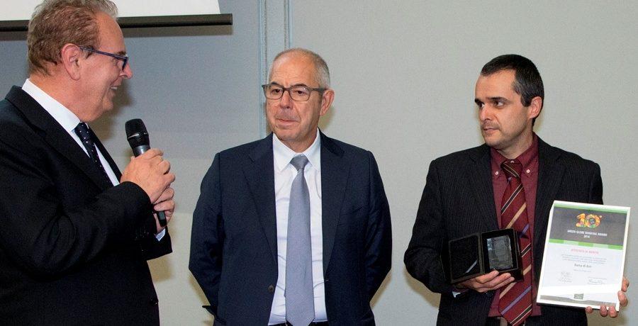 Banca di Asti premiata al X Green Globe Banking Award