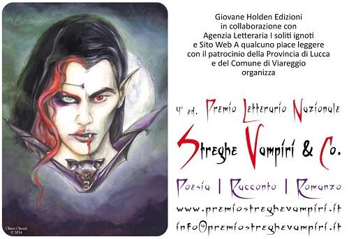 Quarta edizione del Premio Letterario Nazionale Streghe Vampiri & Co.