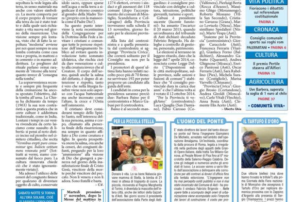 Prima pagina – 28 ottobre 2016